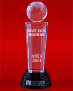 «Meilleur courtier ECN en Asie 2014» selon international Finance Magazine