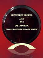 Global Banking & Finance Review 2012  - Cel mai Bun Broker Forex din Asia